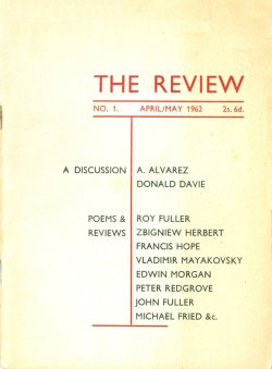 The Review, no. 1, edited by Ian Hamilton
