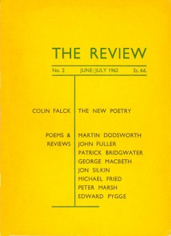 The Review, no. 2, edited by Ian Hamilton
