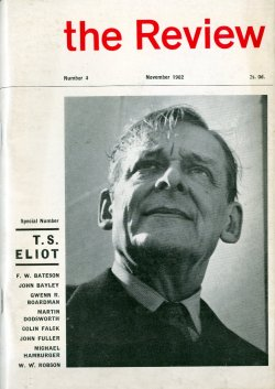 The Review, no. 4, edited by Ian Hamilton (T. S. Eliot)