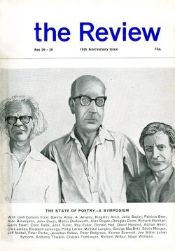 The Review, no. 29-30, edited by Ian Hamilton